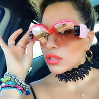 Cardi Oversized Square Sunglasses