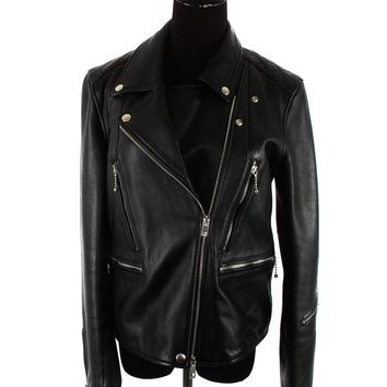Rag and Bone Lambskin Biker Jacket