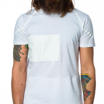 Punk Royal CM1738 Rectangle-Print T-Shirt White