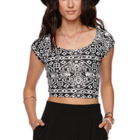 LA Hearts Cross Back Cropped Top at PacSun.com