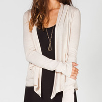 Billabong Pent Up Womens Cardigan Oatmeal  In Sizes