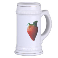 Red Ripe Strawberry Coffee Mug