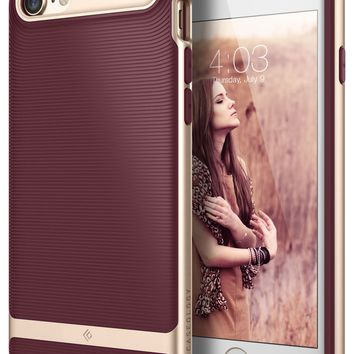 Caseology Wavelength Series iPhone 7 / 8 Cover Case with Pattern Slim Protective for Apple iPhone 7 (2016) / iPhone 8 (2017) - Burgundy