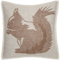 Squirrel Wool Cushion Cover