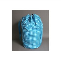 Polka Dot Laundry Tote - Ocean Blue Essentials For College Dorm Room Girls Supplies Laundry Wash Bags Cute