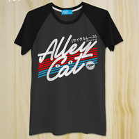 "New ""Alley Cat"" Cycling Tshirt / Fixed gear/ Fixies / Vintage / Bicycle T-shirt / T-Shirt  / Unisex / Men Shirt / typography shirt"
