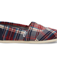 Red and Blue Plaid Women's Classics US