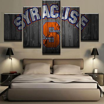 5 Pieces/Set Syracuse Oranges Wall Art Picture Modern Home Decoration Living Room Or Bedroom Canvas Print Painting Wall Picture