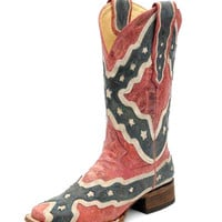 Corral Women's Rebel Flag Boot - A1177