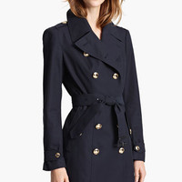 Burberry London Gold Button Trench Coat | Nordstrom
