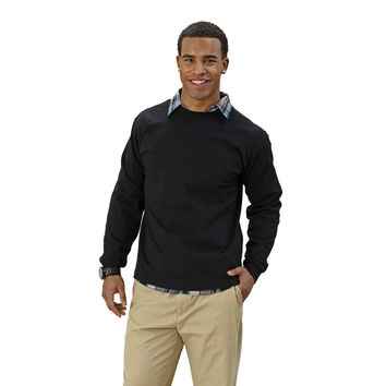 Adult Long Sleeve Crew Neck Classic Fit