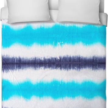 Cool Colored Tie Dye Duvet Cover