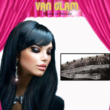 "Micro Weft, Hair Extensions, Custom Color, 20"", 100% Cuticle Remy Human Hair"