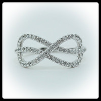 Diamond Ring 14k Gold - Ring Name: Infinite Love
