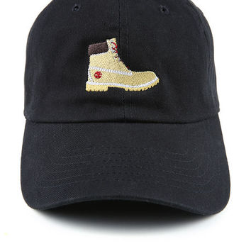 The Tims Dad Hat in Black
