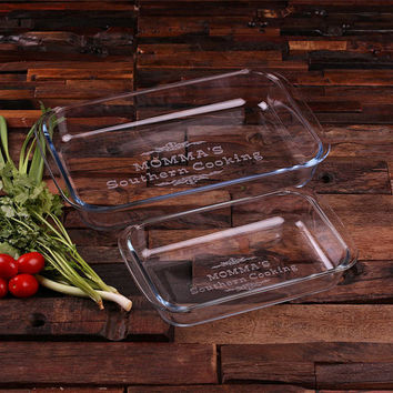 Personalized Stainless Steel Square Coasters with Wood Gift Box