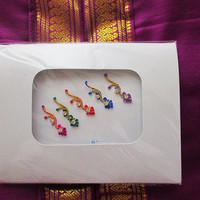 Classic Bindi Stickers, Tattoos Bridal Wedding party wear.  Bindi Jewellery.