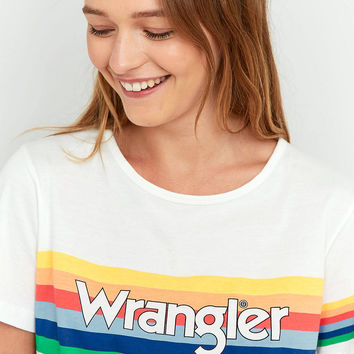 Wrangler Rainbow Graphic T-Shirt | Urban Outfitters