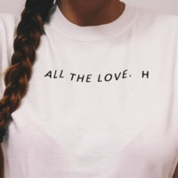 All The Love Harry Graphic Top
