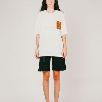 Lova Pocket Tee | White