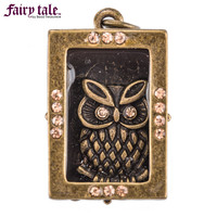 Antique Brass Owl in Box Charm | Hobby Lobby | 1134386