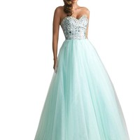 Sequins Long Sexy Evening Party Ball Prom Gown Formal Bridesmaid Cocktail Dress (S ( US 4-6 ), green)