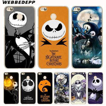 WEBBEDEPP Nightmare Before Christmas Sally Jack Phone Case for Xiaomi Mi 8 SE 5S 5X 6X 6 5 Mi A1 A2 Lite Mix 2S Note 3 Cover