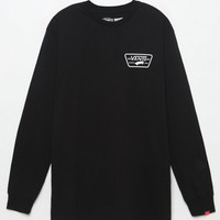 Vans Full Patch Back Black Long Sleeve T-Shirt at PacSun.com