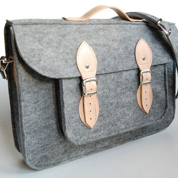 MacBook Pro 13 inch bag  satchel Laptop bag case by etoidesign