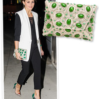 Steal Her Style: Olivia Palermo's Bejeweled Clutch