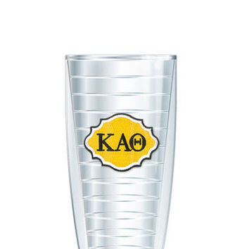 Kappa Alpha Theta Tumbler -- Customize with your monogram or name!
