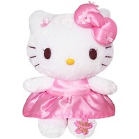 Original Hello Kitty Plush Soft Stuffed Doll Toys for Girl's Birthday Gifts Cute Cat Hello Kitty Toys