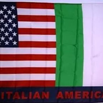 USA and Italy Friendship Italian American Flag 3ft x 5ft Polyester Banner Flying 150* 90cm Custom flag outdoor