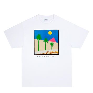 Noah x The Cure Boy's Don't Cry T-Shirt (White)