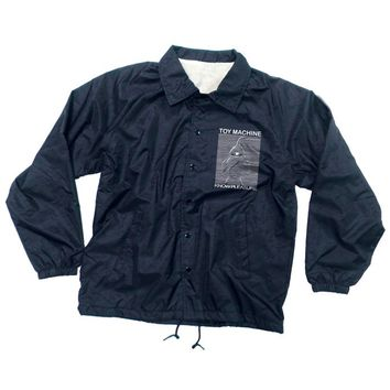 Toy Machine Toy Division Windbreaker Navy - Clothing