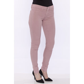 Flying Monkey Low-Mid Rise Skinny Jeans Rose Pink