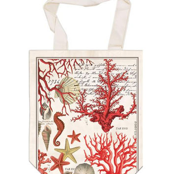 Red Coral French Market Bag