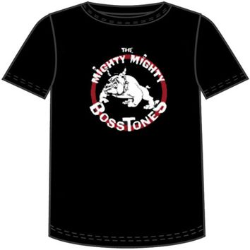 Mighty Mighty Bosstones T-shirt - Bulldog in Circle Logo | Men's Black Shirt