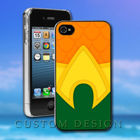 Hard Case Design - The Justice League Aqua Man - Custom Print for iPhone 4/4s, iPhone 5, Samsung S3 9300 and Samsung S4 9500