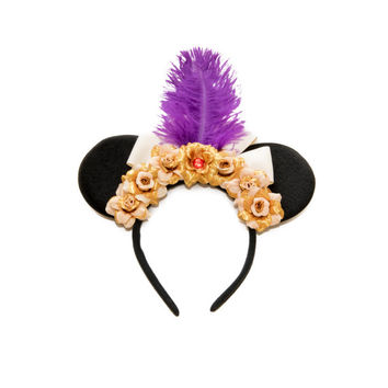 Prince Ali Ababwa Disney Ears Headband, Mouse Ears, Aladdin Ears, Disney Headband, Aladdin Costume, Aladdin Birthday, Disney Bound