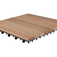 Deck Tile, 9 Slats, 10.33 sq. ft.