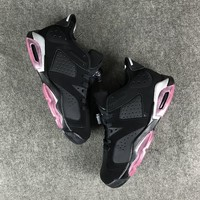 Best Deal Online Nike Air Jordan 6 Retro Low GG Sun Blush Women Sneakers Men Sports Shoes