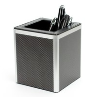 Edelberg Carbon Fiber Office Pen Cup