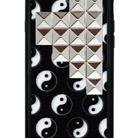 Yin Yang Silver Pyramid iPhone 6 Case