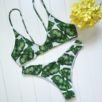 Jungle Tropics Seamless Bikini Set