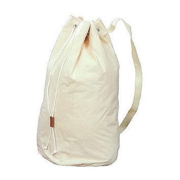 Large Canvas Laundry Bag