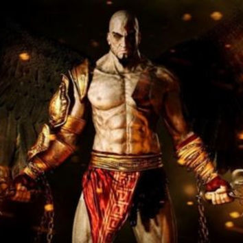 God Of War III Decoration Canvas silk Poster