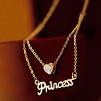 Dazzling Princess Fashion Necklace
