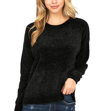 Forever Chenille Knit Sweater