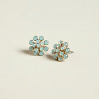 Pacific Opal Dot Studs - World Market
